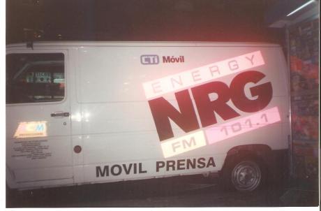 El movil NRG